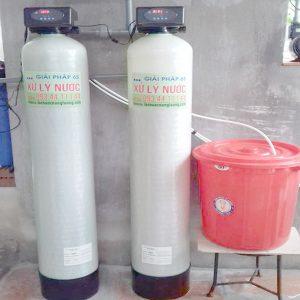 Công trình xử lý nước máy dùng Autoval ở Bắc Ninh 01