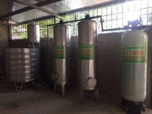 Công trình lọc nước giếng khoan tại Triều Khúc – Thanh Trì – Hà Nội