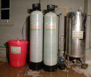 Công trình lọc nước giếng khoan nhà Bs – Thầy thuốc Nguyễn Trạch Phương