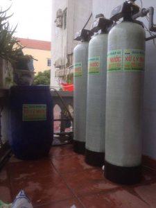 Công trình xử lý nước giếng khoan tại Ba Vì – Hà Nội