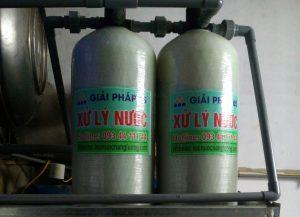 Công trình lọc nước Giếng khoan cho Bún Chả Dì Cháu – 255 Lĩnh Nam, Hoàng Mai, Hà Nội