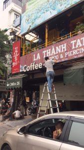 Công trình thi công lọc nước quán cà phê Coffe 26