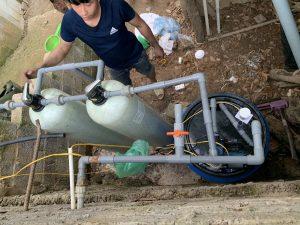 Xử lý nước giếng khoan bị nhiễm sắt tại Sơn Động – Bắc Giang